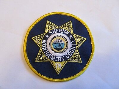 Tennessee Montgomery Co Sheriff Patch