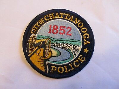 Tennessee Chattanooga Police Patch