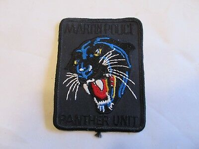 Tennessee Martin Police Panther Unit Patch