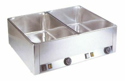 Bainmarie 660 x 540 x 220 mm, Water Bath Food Warmer Warm Keeping