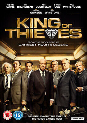 King of Thieves DVD (2019) Michael Caine ***NEW***