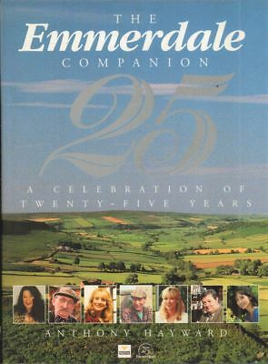 The Emmerdale Companion 25(Hardback Book)Anthony Hayward-Yorkshire T-Good