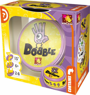 Dobble By Asmodee Visual Perception Card Game Party Family Spot It