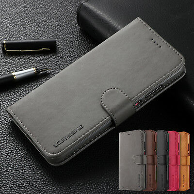 For Huawei P20 Pro Case P10 Lite Luxury Magnetic Leather Card Holder Stand Cover