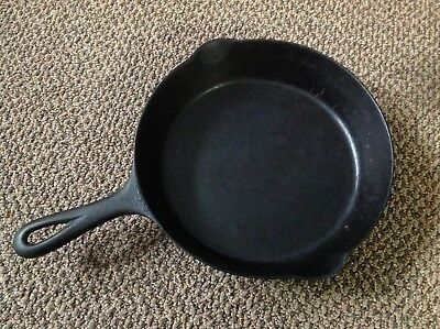 Rare Old Antique Cast Iron Griswold Camp Skillet 701A Relic Scarce Original Erie