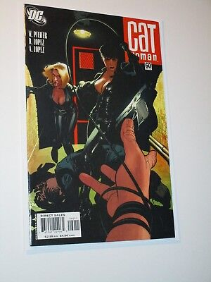 CATWOMAN #60 (2005, DC) Vol. 3 Sexy Selina Kyle Action Cover by Adam Hughes 9.6+