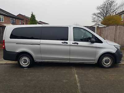 2015 Mercedes Vito Tourer Pro X Long 9 Seater Auto Diesel Damaged Repaired
