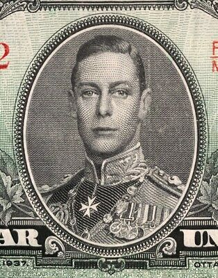 Canadá Lot Of 2 Series 1937 General George Vi Vf 🇨🇦