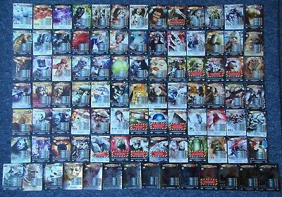 Doctor Who Battles in Time 92 different ULTIMATE MONSTERS inc. 12 Rare Cards Set