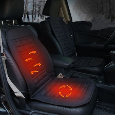 Car Office Seat Heater Warmer Heated Cushion Pad Cover 12V Safe Body Heated