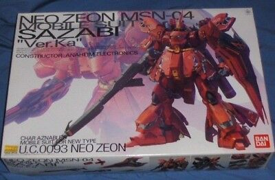 "Bandai MG 0185135 GUNDAM Neo Zeon MSN-04 Sazabi ""Ver.Ka"" Mobile Suit Kit Japan"