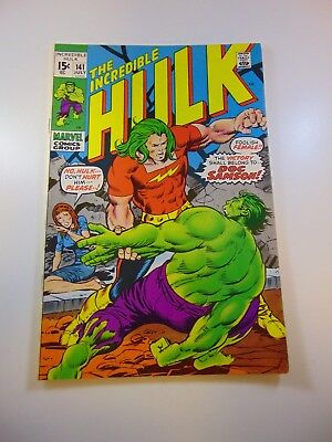 Incredible Hulk #141 VF- condition Huge auction going on now!