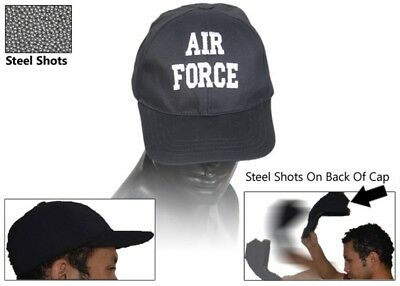 Air Force Self Defense Baseball Hat Cap Low Profile Weighted Style Impact Tool