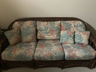 vintage wicker rattan furniture
