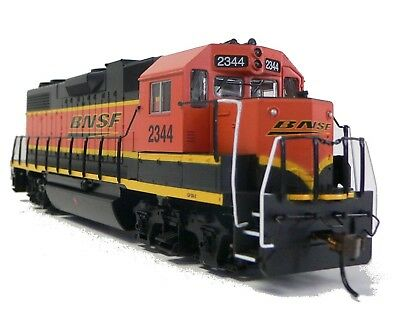 HO SCale Model Railroad Trains Layout Engine BNSF GP38-2 DCC Equipped Locomotive