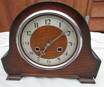 Vintage Perivale Napoleon Hat Clock - needs Attention