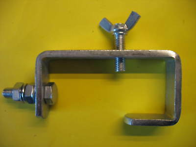 Doughty Standard Hook Clamp 50mm.G CLAMP MOBILE DISCO, DJ. USED.EX CON.FREE POST