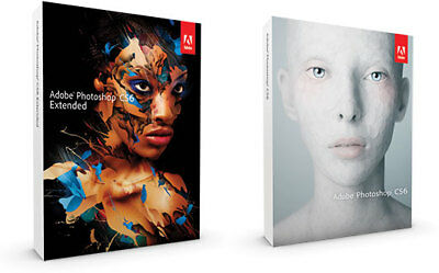 Adobe Photoshop CS6 Extended Full License And Downloads For Windows/ Lifetime