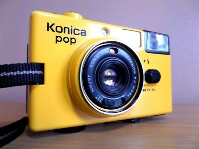 Very Rare & Highly Sought Advertising Variant YELLOW Konica Pop  - Find Another
