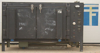 A.D. ALPINE GL-16 COMMERCIAL ELECTRIC POTTERY GLASS KILN w/ DIGITAL CONTROLLER