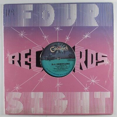 """DJ DEBONAIRE Get Silly With The Muppet Bass COOMACK 12"""" VG+ miami electro HEAR"""