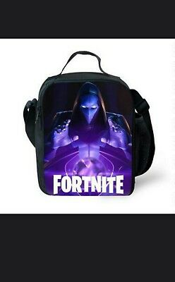 Fortnite Lunch Bag  Battle Royale Snack School Box Hand Bag