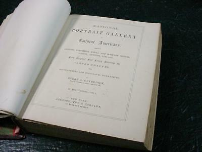 NobleSpirit NO RESERVE {3970}National Portrait Gallery of Eminent Americans Book