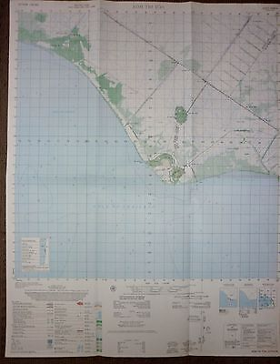 5929 ii - XOM TRI TON - 1967 MAP - US Special Forces Base - VIETNAM WAR