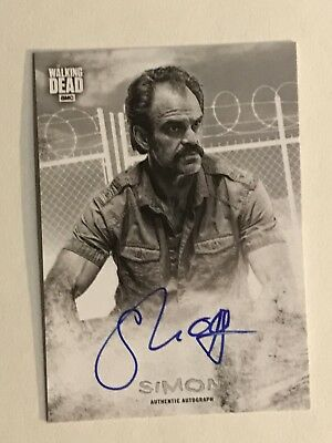 2018 Walking Dead Hunters & Hunted Steven Ogg As Simon Autograph Card AUTO