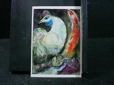 """NobleSpirit NO RESERVE {3970}Print of """"Le Coq"""" Signed by Artist Marc Chagall"""
