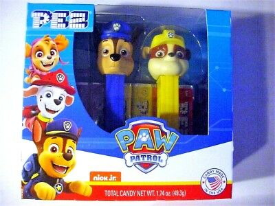 Paw Patrol Pez Boxed Set-Chase and Rubble