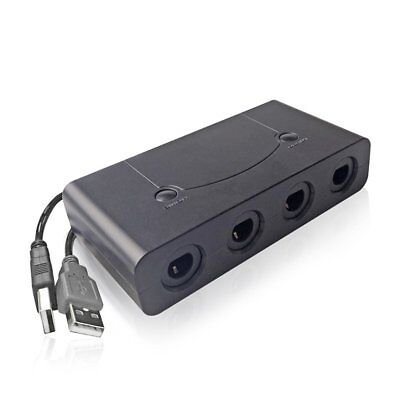 NEW 4 Port Gamecube NGC Controller Adapter For Nintendo Wii U & Switch & PC USB