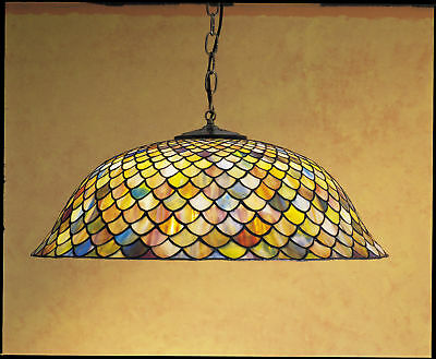 Meyda Tiffany 30455 Tiffany Glass Stained Glass / Tiffany Down Lighting Pendant