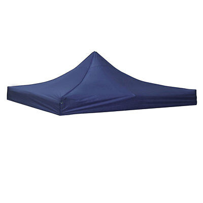 10x10ft EZ Pop Up Canopy Top Replacement Gazebo Sunshade Tent Oxford Cover Navy