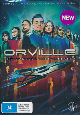 The Orville Complete First Season One 1 DVD NEW Region 4