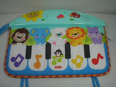 Fisher Price Crib to Floor Precious Planet Kick & Play Piano Musical Baby Toy