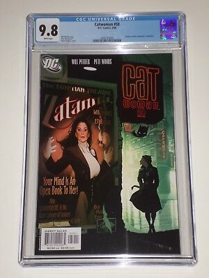 Catwoman #50 (Feb 2006) CGC Graded 9.8 Zatanna Appearance, Adam Hughes Cover