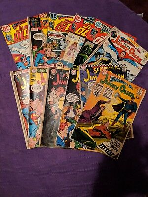 Superman's Pal Jimmy Olsen Lot of 12 Comics!