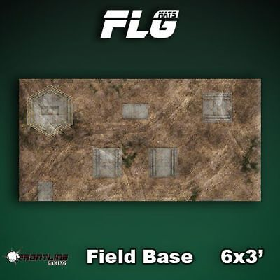 FLG Field Base Neoprene Gaming Mat (6x3)