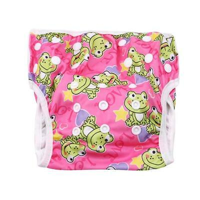 Swim Nappy Diaper Reusable Leakproof Washable Adjustable Toddler Cover LC