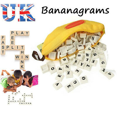 Bananagrams Wild Vocabulary Building Spelling Puzzle Games Toy Edu Improvement
