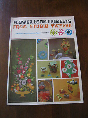 Flower Loom Projects from Studio Twelve: Volume 1: Vintage :Preloved