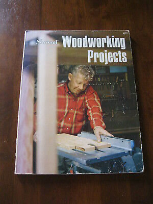 Sunset Woodworking Projects: 1972: inc:Coffee Tables/ Camp table etc  Preloved