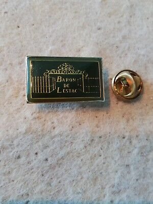 Pin's Pins Baron de Lestac vin Bordeaux wine vignoble