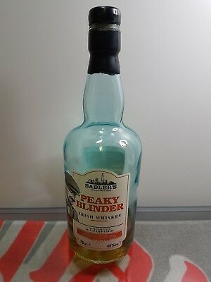 b5b1ae69c1b Peaky Blinder Irish Whiskey  EMPTY BOTTLE  Upcycle  Wedding  Decoration