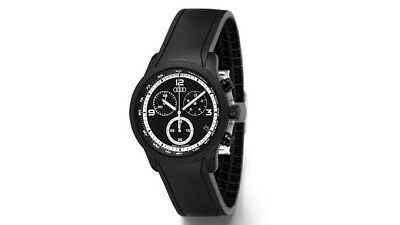 Audi Chronographe Blackline Noir Quattro Collection Montre
