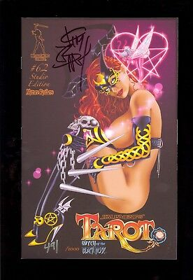TAROT WITCH of the BLACK ROSE #62 SIGNED by JIM BALENT VARIANT NM  COMIC KINGS