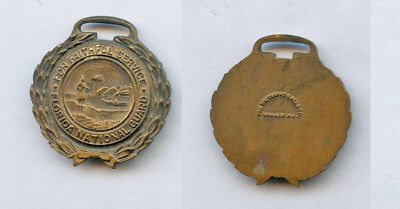 WWI WW1 EARLY Florida FL National Guard Military Service Medal Badge