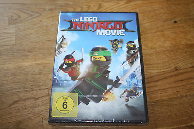 Dvd - The Lego Ninjago Movie - Neu & Ovp
