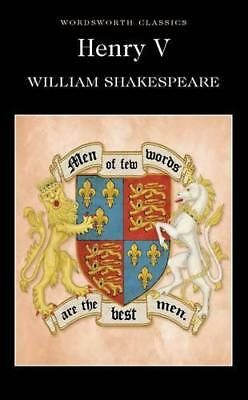 Henry V : (Wordsworth Classics) by William Shakespeare, Paperback Book, New, FRE